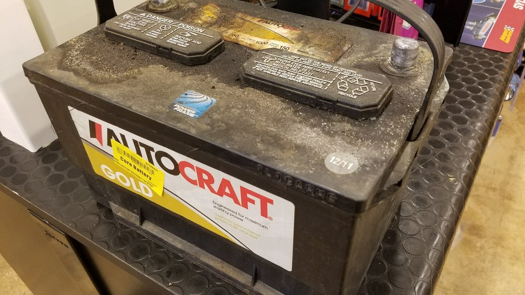 AutoCraft battery - read before buying