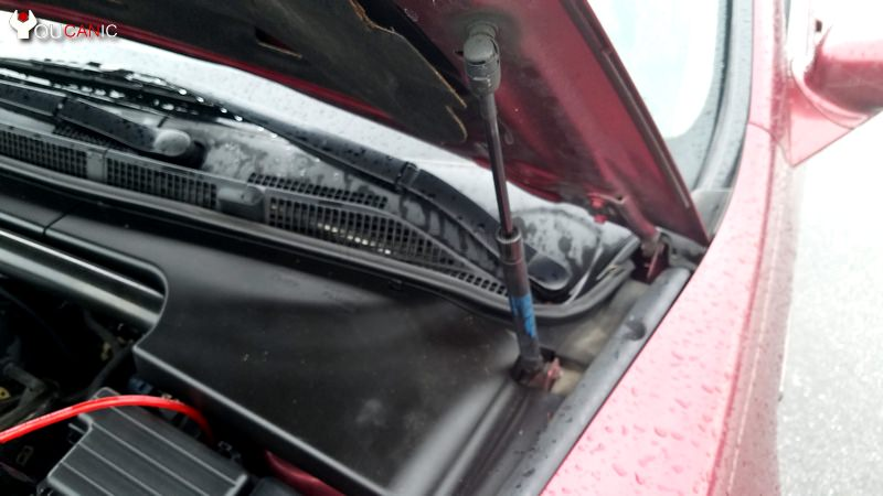 acura hood strut replacement
