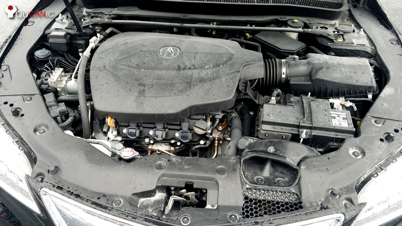 remove acura engine cover to change ignition coil