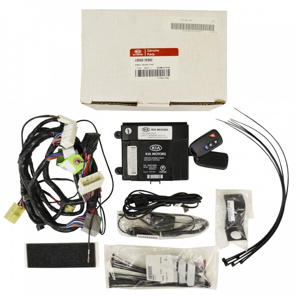Kia Engine Remote Start Kits Auto Mobile Starter Kit Diagram Genuine Oem