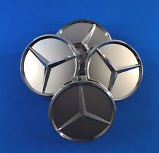 mercedes chrome center cap
