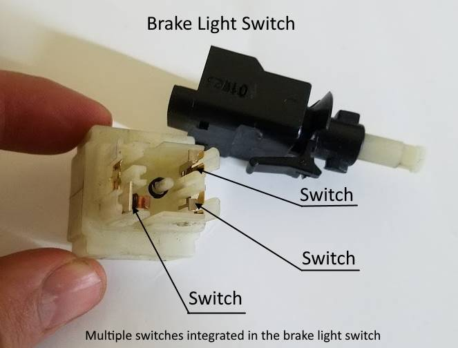 modern brake light switch