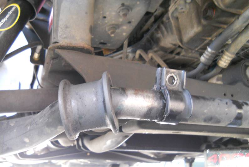 bad sway bar bushing