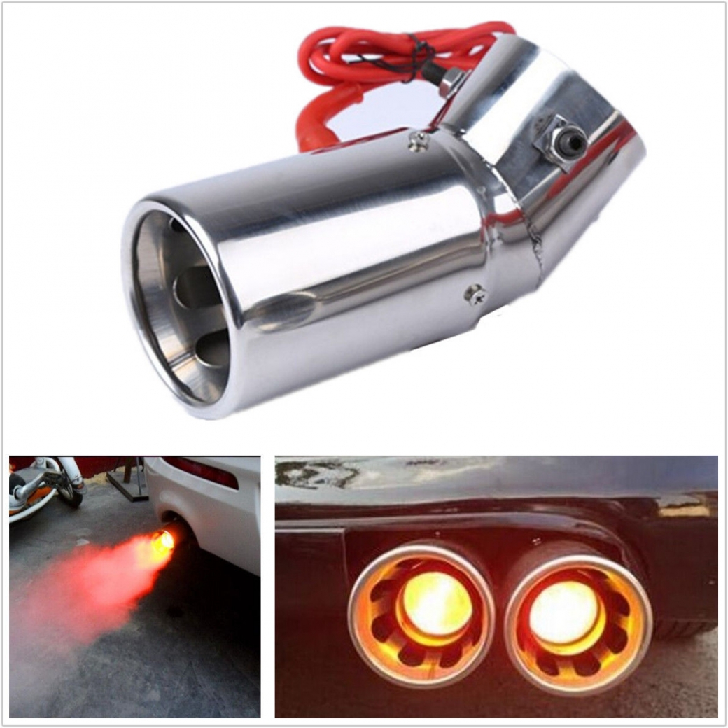 audi led exhaust tip