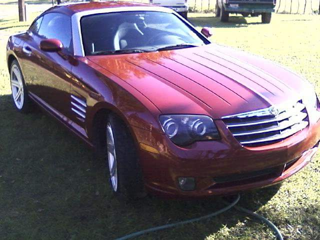 2004 crossfire manual transmission