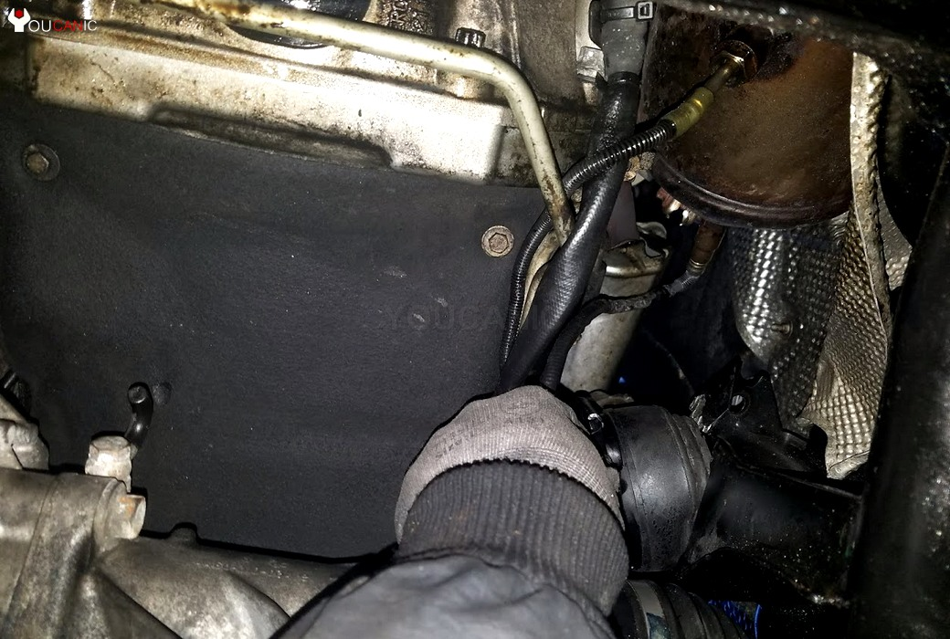 removal of engine mount